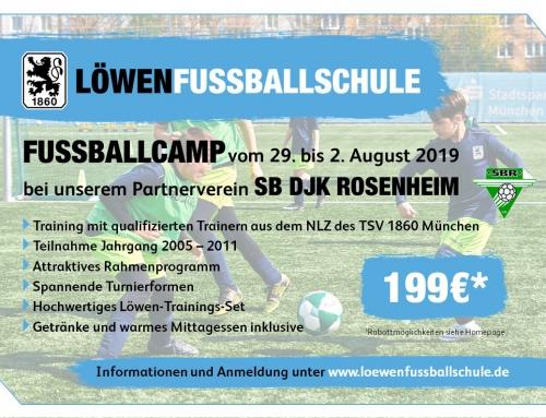 Die Löwen-Fußballschule ist wieder beim SBR zu Gast!