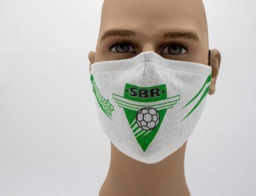 Schutzmaske des Sportbund DJK Rosenheim erhältlich