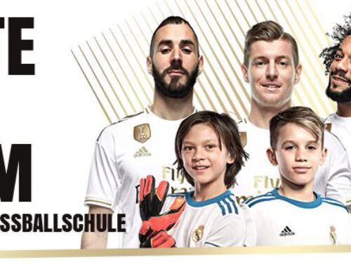 Die Real Madrid Fußballschule kommt an den Campus!