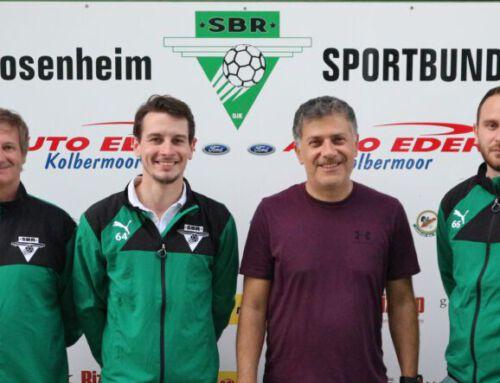Neue Jugendtrainer beim SBR und Sichtungstraining Jahrgänge 2005 bis 2012