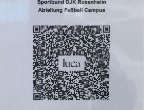 Zuschauer-Registrierung per Luca-App möglich